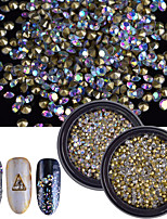 2 Nail Art Decoration Rhinestone Pearls Makeup Cosmetic Nail Art Design