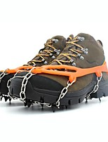 Traction Cleats Crampons Outdoor Non-Slip Outdoor Exercise Metal Alloy Rubber cm pcs