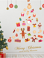 Christmas Holiday Wall Stickers Plane Wall Stickers Decorative Wall Stickers,Bonded Material Home Decoration Wall Decal