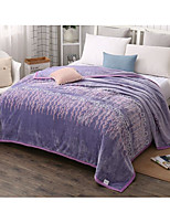 cheap -Super Soft,Printed Plaid/Checkered Polyester Blankets