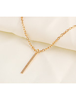 Women's Pendant Necklaces Alloy Fashion Simple Style Jewelry For Daily Casual