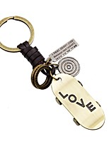 Keychains Jewelry Leather Alloy Irregular Fashion Rock Going out Street
