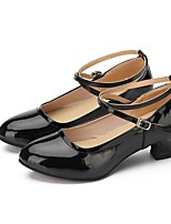 "cheap -Women's Modern Faux Leather Sneaker Outdoor / Customized Heel Black 2"" - 2 3/4"" Customizable"