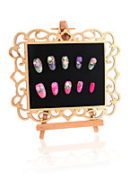 cheap -1 Nail Color Card Display Board Nail Art Manicure Makeup Cosmetic  Tool Kit