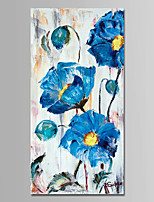Hand-Painted Still Life Vertical,Modern One Panel Canvas Oil Painting For Home Decoration