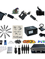 Professional Tattoo Kit 2 rotary machine liner & shader 2 Black Tattoo Machine Inks Not Included