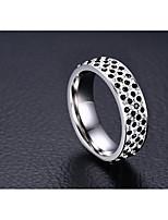 Mulheres Anéis Grossos Zircônia cúbica Zircônia Cubica Aço Titânio Jóias Para Casamento Festa