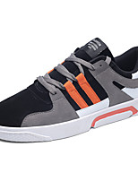 cheap -Men's Shoes Pigskin Fall Comfort Light Soles Sneakers For Casual Outdoor Orange/Black Black/Green Black/White Gray
