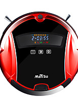iPS Minsu M06 Self Charging Smart Robotic Vacuum Cleaner with Drop Sensing Technology and HEPA Style Filter for Pet Fur and Allergens