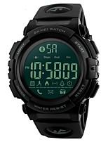 abordables -Hombre Reloj Deportivo Reloj de Pulsera Reloj creativo único Japonés Digital Bluetooth Despertador Calendario Cronógrafo Resistente al