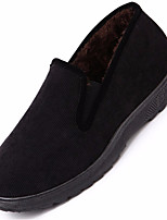 Men's Shoes Suede Winter Snow Boots Boots Booties/Ankle Boots For Casual Dark Blue Black