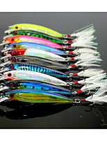 10 pcs Fishing Lures Minnow g/Ounce mm inch,ABS Lure Fishing