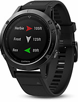 GARMIN® fenix 5 Sapphire Men's GPS Sport Watch Digital Watch Chinese Digital Calendar / date / day Water Resistant / Water Proof Thermometer