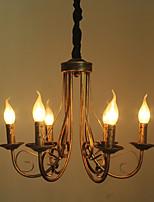 Ретро Люстры и лампы Назначение Гостиная Спальня Кабинет/Офис AC 220-240 AC 110-120V Лампы не включены