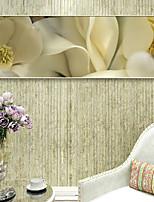 Floral/Botânico Paisagem Ilustração Arte de Parede,PVC Material com frame For Decoração para casa Arte Emoldurada Sala de Estar Cozinha
