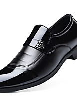 Men's Shoes PU Winter Formal Shoes Comfort Loafers & Slip-Ons For Office & Career Party & Evening Black