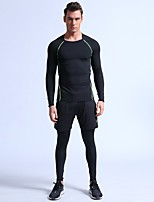 cheap -Men's Ski Base Layer Quick Dry Wearable Sweat-Wicking Breathability Lightweight Outdoor Exercise Multisport Back Country Eco-friendly