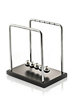 Newton Cradle Balance Balls Toys Stress Relievers Educational Toy Toys Gravity Type Metal Ornament Stress and Anxiety Relief Office Desk