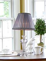 Рассеянное освещение Хрусталь Настольная лампа Защите для глаз Вкл./выкл. От электросети 220 Вольт Светло-лиловый