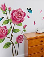 adesivi murali floreali / botanici adesivi murali aerei adesivi murali decorativi, materiale vinilico decorazione domestica decalcomania