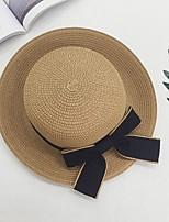 Da donna Quattro stagioni Maglia Casual Cappello da sole,Solidi