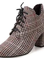 preiswerte -Damen Schuhe Gummi Winter Springerstiefel Stiefel Spitze Zehe Für Schwarz Grau Braun Khaki