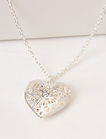 Women's Pendant Necklaces Heart Alloy Love Jewelry For Wedding Party