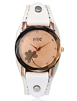 cheap -Women's Casual Watch Fashion Watch Wrist watch Chinese Quartz Chronograph Genuine Leather Band Vintage Casual Cool Elegant Christmas
