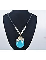 Women's Pendant Necklaces Resin Alloy Pendant Necklaces , Fashion European Gift Daily