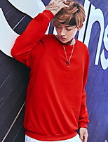 cheap -Men's Carnival Daily Wear Sweatshirt Lolita Round Neck Micro-elastic Linen Long Sleeves Fall