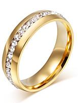 les bijoux élégants de cercle d'acier inoxydable des femmes des hommes pour la noce