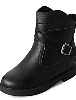 cheap -Women's Shoes PU Spring Fall Comfort Boots For Outdoor Yellow Black