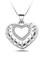 Жен. Ожерелья-бархатки Свисающие Серебрянное покрытие На каждый день Мода Подарок Бижутерия Назначение Другое Повседневные