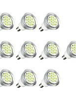 10pcs 5W E14 Spot LED E14 / E12 16 diodes électroluminescentes SMD 5630 Lampe LED Blanc 380lm 3000-3500/6000-6500K AC 85-265V