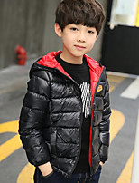 Boys' Solid Down & Cotton Padded,Cotton Long Sleeves