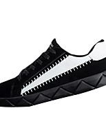 cheap -Men's Shoes PU Spring Fall Comfort Sneakers For Casual Gray Black White