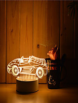 1 Set Of 3D Mood Night Light Hand Feeling Dimmable USB Powered Gift Lamp Car