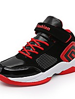 Boys' Shoes PU All Season Comfort Light Soles Athletic Shoes Basketball Shoes For Athletic Casual Black/Yellow Black/Blue Black/Red