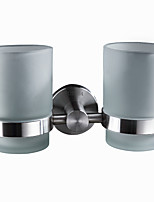 Modern Toothbrush Holders Stainless steel Solid Round