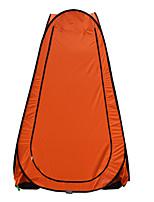 Недорогие -1 человек Световой тент Один экземляр Палатка Однокомнатная Автоматический тент Дожденепроницаемый Водонепроницаемаямолния Пригодно для