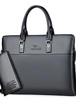 preiswerte -Damen Taschen PU Bag Set 2 Stück Geldbörse Set Reißverschluss für Normal Alle Jahreszeiten Blau Schwarz Braun