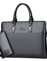cheap -Women Bags PU Bag Set 2 Pieces Purse Set Zipper for Casual All Season Blue Black Brown