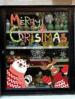 Natal Adesivos de Parede Autocolantes de Aviões para Parede Autocolantes de Parede Decorativos,Vinil Material Decoração para casa Decalque