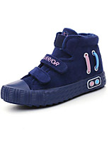 Boys' Shoes Canvas Spring Fall Comfort Sneakers For Casual Black Blue