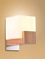 Недорогие -настенный светильник Рассеянное освещение 3W 220 Вольт E27 Модерн