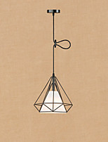 Retro/Vintage Lantern Country Traditional/Classic Pendant Light For Dining Room Hallway Shops/Cafes AC 220-240V Bulb Included