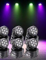 U'King 6pcs LED Stage Light / Spot Light DMX 512 Master-Slave Sound-Activated Auto 70 for Club Outdoor Party Stage Wedding Professional