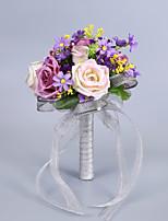Fleurs de mariage Bouquets Mariage Fête d'anniversaire Mix Env.23cm