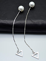 cheap -Women's Front Back Earrings Sweet Lovely Imitation Pearl Alloy Jewelry For Wedding Party