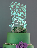 Cake Topper Abstract Lolita Plastic Others 53 1 Gift Box